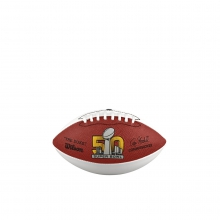 Super Bowl 50 Autograph Football - Mini by Wilson