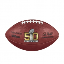Super Bowl 50 Game Football - Denver Broncos by Wilson