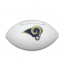 NFL Team Logo Autograph Football - Official, Los Angeles Rams by Wilson in Ames Ia
