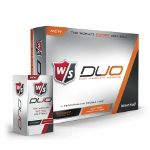 Wilson Staff Duo Golf Balls - Orange by Wilson