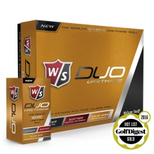 Staff Duo Urethane Golf Balls by Wilson