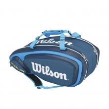 Tour V Blue 9 Pack Tennis Bag by Wilson