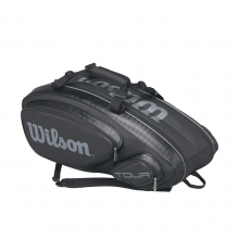 Tour V 9 Pack Tennis Bag Black by Wilson