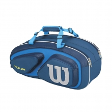 Tour V Blue 6 Pack Tennis Bag by Wilson