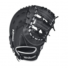 "A2000 1617 Super Skin 12.5"" Glove - Right Hand Throw by Wilson"