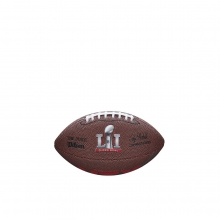 Super Bowl 51 Soft Touch Mini Football by Wilson