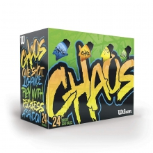 Chaos Color Golf Balls by Wilson