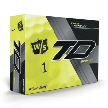 Staff True Distance Golf Balls - Soft Yellow by Wilson
