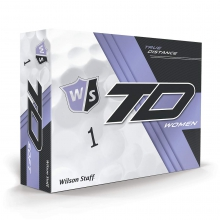 Wilson Staff True Distance Golf Balls - Women's White by Wilson