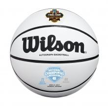 North Carolina Tar Heels 2017 NCAA National Champion Commemorative Basketball by Wilson