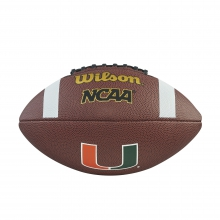 NCAA Composite Football - Miami by Wilson