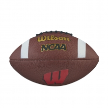 NCAA Composite Football - Wisconsin by Wilson