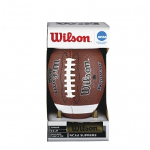 NCAA Supreme Junior Football with Pump & Tee by Wilson