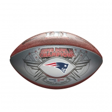 New England Patriots Super Bowl 51 Champion Football by Wilson