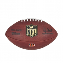 The Duke Decal NFL Football - Cincinnati Bengals by Wilson