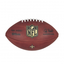 The Duke Decal NFL Football - New Orleans Saints by Wilson