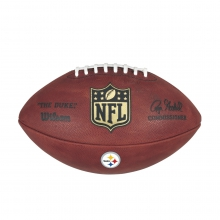 The Duke Decal NFL Football - Pittsburgh Steelers by Wilson