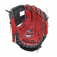 "A200 Cleveland Indians 10"" Tee Ball Glove by Wilson"
