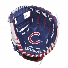 "A200 Chicago Cubs 10"" Tee Ball Glove"