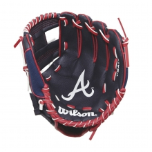 "A200 Atlanta Braves 10"" Tee Ball Glove by Wilson"