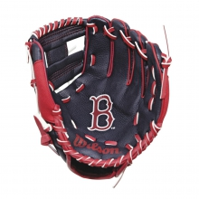 "A200 Boston Red Sox 10"" Tee Ball Glove by Wilson"
