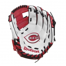 "A200 Cincinnati Reds 10"" Tee Ball Glove by Wilson"