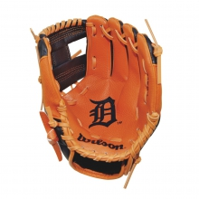 "A200 Detroit Tigers 10"" Tee Ball Glove by Wilson"