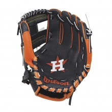"A200 Houston Astros 10"" Tee Ball Glove by Wilson"