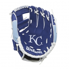 "A200 Kansas City Royals 10"" Tee Ball Glove - Right Hand Throw by Wilson"