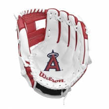 "A200 Los Angeles Angels 10"" Tee Ball Glove by Wilson"