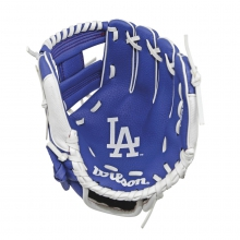 "A200 Los Angeles Dodgers 10"" Tee Ball Glove - Right Hand Throw by Wilson"