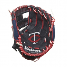 "A200 Minnesota Twins 10"" Tee Ball Glove by Wilson"