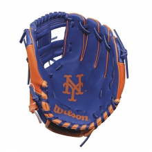 "A200 New York Mets 10"" Tee Ball Glove - Right Hand Throw by Wilson"