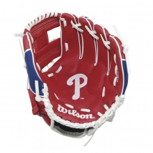 "A200 Philadelphia Phillies 10"" Tee Ball Glove by Wilson"