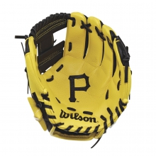 "A200 Pittsburgh Pirates 10"" Tee Ball Glove by Wilson"