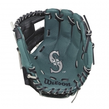 "A200 Seattle Mariners 10"" Tee Ball Glove by Wilson"