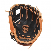 "A200 San Francisco Giants 10"" Tee Ball Glove by Wilson"