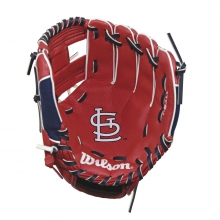 "A200 St. Louis Cardinals 10"" Tee Ball Glove by Wilson"