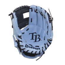 "A200 Tampa Bay Rays 10"" Tee Ball Glove - Right Hand Throw by Wilson"