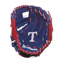 "A200 Texas Rangers 10"" Tee Ball Glove by Wilson"