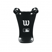 "Throat Protector Black, 6"" by Wilson"