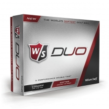 Staff Duo Golf Balls by Wilson