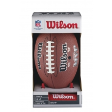 NFL MVP Football With Pump & Tee - Junior by Wilson