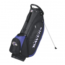 Wilson NFL Carry Golf Bag - Baltimore Ravens by Wilson