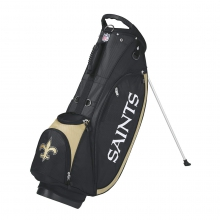Wilson NFL Carry Golf Bag - New Orleans Saints by Wilson