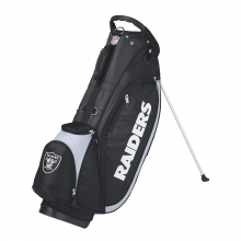 Wilson NFL Carry Golf Bag - Oakland Raiders by Wilson
