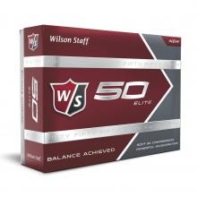 Staff Fifty Elite Golf Balls by Wilson
