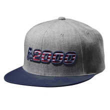 A2000 Heather Snapback Hat by Wilson