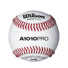 A1010 Pro Series Collegiate Elite Game Play Baseballs by Wilson