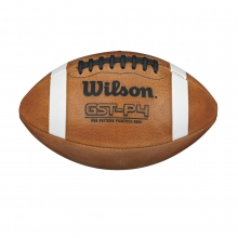 1004 GST Leather Practice Football by Wilson